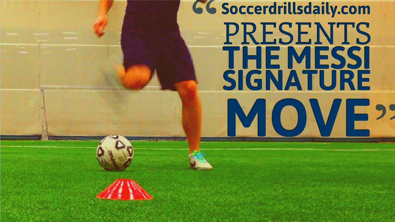 Soccer Moves – How to do the Lionel Messi Signature Move