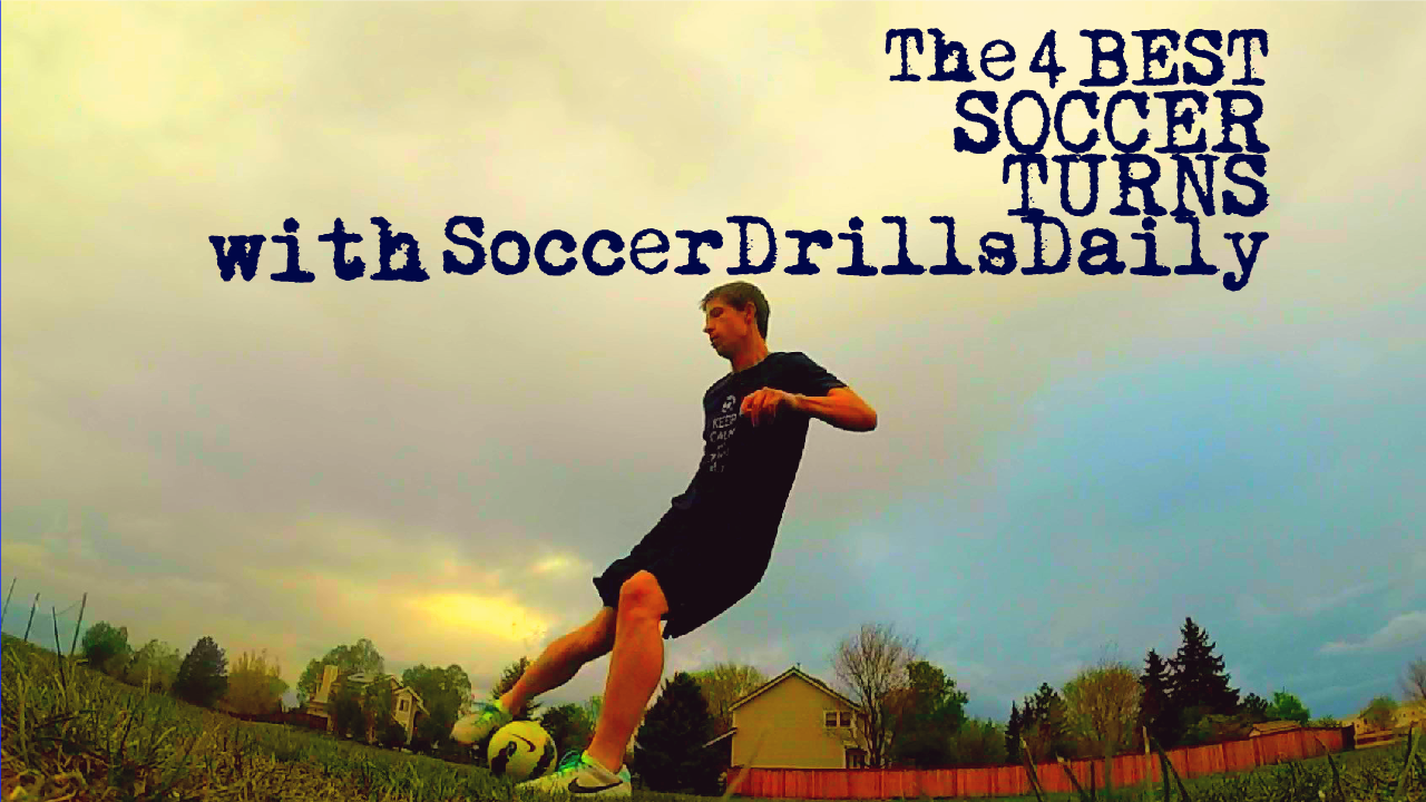 How to do the 4 Best Soccer Turns to Beat a Defender