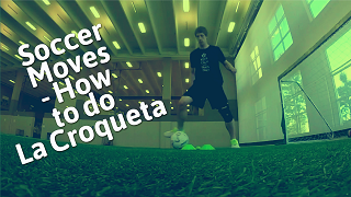 """Soccer Drills to Learn How to Do the """"La Croqueta"""" Soccer Move Like Andres Iniesta and Angel Di Maria"""
