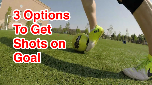 Thumbnail for Soccer Drills Daily's getting shots on goal post