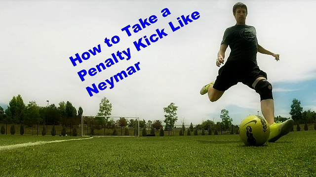 Neymar Penalty Kick Tutorial