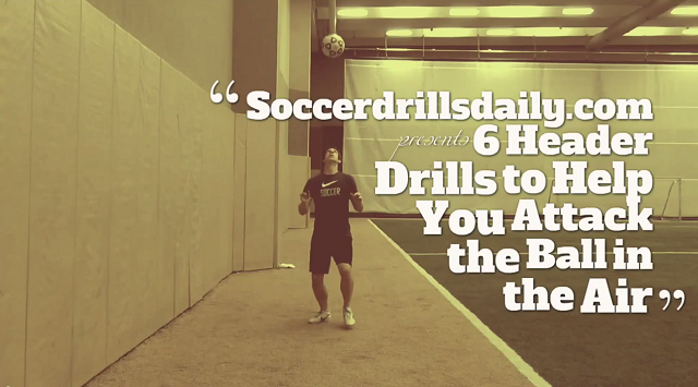 Soccer Header Drills
