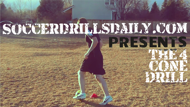 The 4 Cone Soccer Dribbling Drill