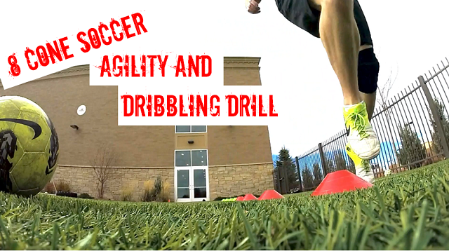 8 Cone Soccer Agility and Dribbling Drill Thumbnail