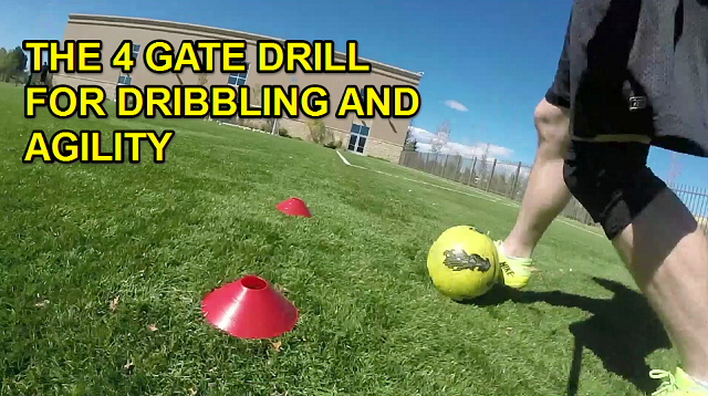 Cover Image for the 4 Gate Soccer Drill