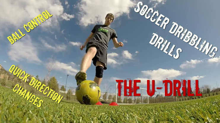 Indvidual Soccer Ball Control and Dribbling Drill - The U-Drill