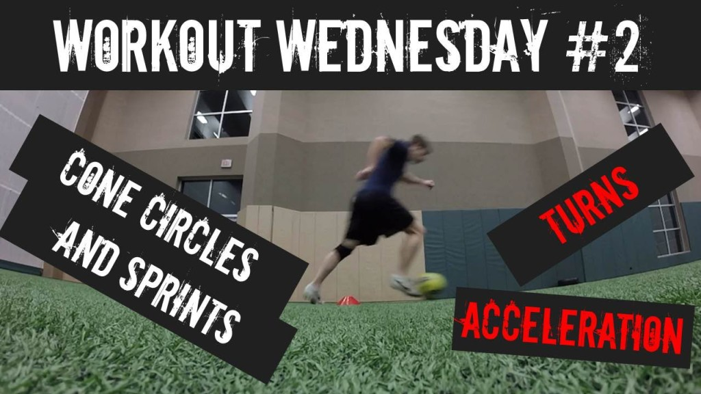 Build Your Ball Control and Acceleration with the Cone Circle and Sprint Workout