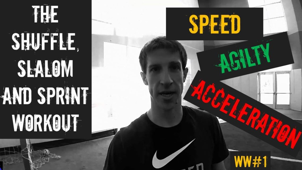 Develop Your Agility, Dribbling, and Acceleration with the Shuffle, Slalom and Sprint Workout