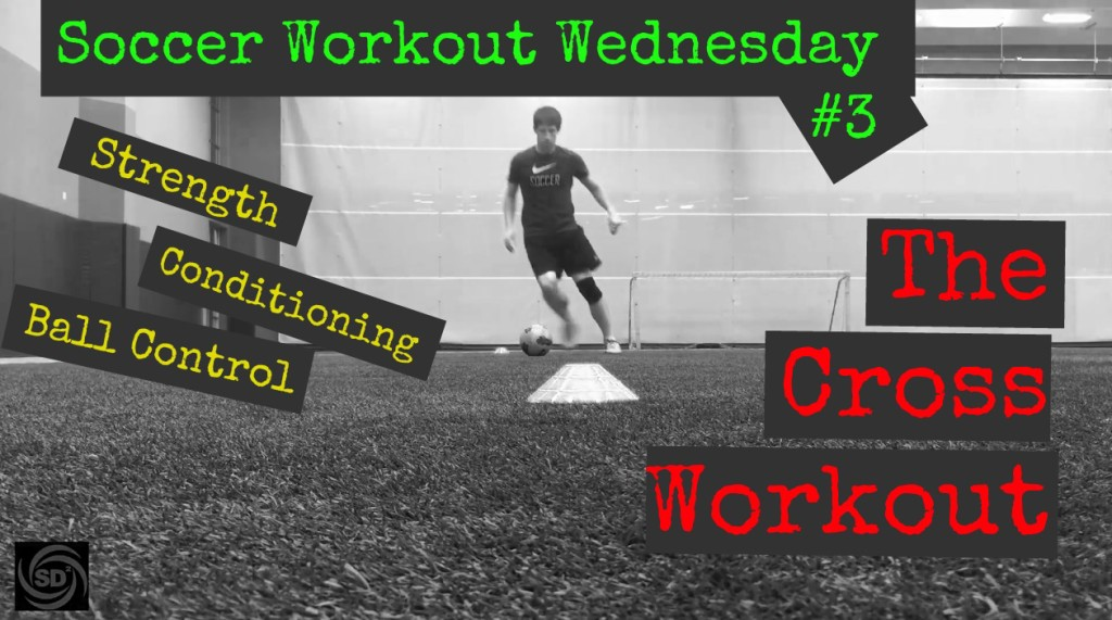 The Cross Soccer ball control and conditioning workout
